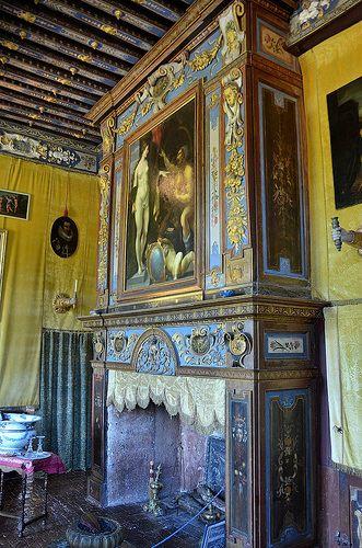 Chateau De Cormatin Saone Et Loire La Chambre De La Marquise D