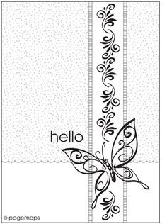 1000+ images about card sketches on Pinterest | Sketchbooks ...