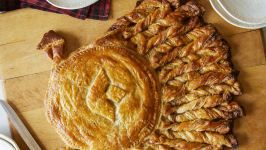 Apple Pie Puff Pastry Turkey #frozenpuffpastry