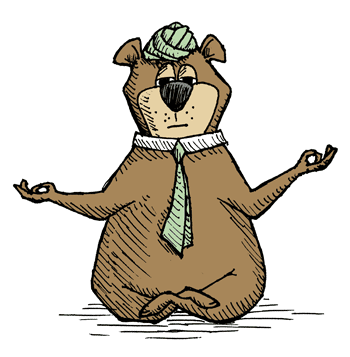 Yogi Bear Yogi Yogi Bear How To Do Yoga