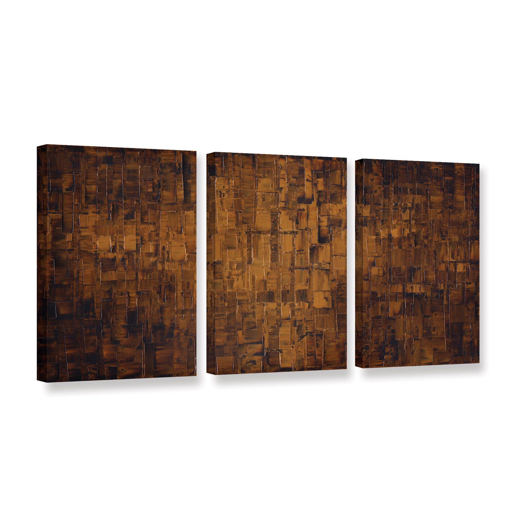 Artwall susanna shaposhnikovaus brown piece gallery wrapped