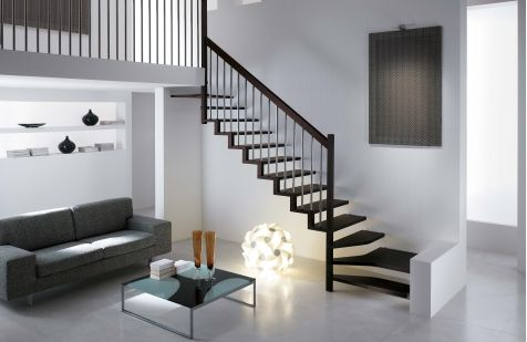modern staircases design | Sample Photos quality modern stairs linea by Rintal