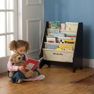 One Step Ahead Kids My First Sling Bookshelf Espresso By One Step Ahead 34 97 We Scaled Our B Toddler Bookshelves Bookshelves Kids Kids Furniture Collection