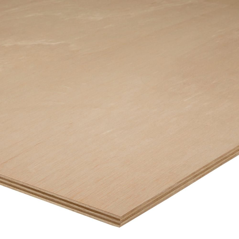 Marine Plywood Home Depot: Sande Plywood ( 3/4 In. Category X 4 Ft. X 8 Ft