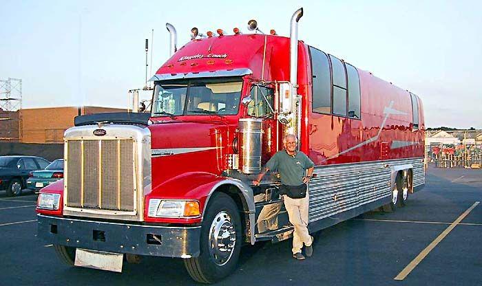 So You Think You Have A Motorhome Brianna Auto Parts Trucks Big Trucks Rv Truck