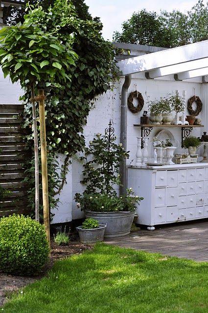eine charmante au enk che fehlt nur noch die kochstelle chefkoch von jm feuer. Black Bedroom Furniture Sets. Home Design Ideas