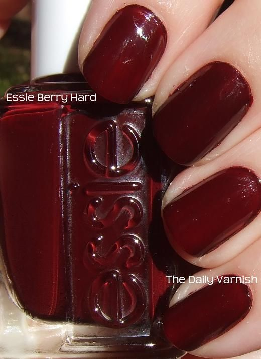 Essie Polish in Berry Hard ; I Actually Have This One ! | Nail ...