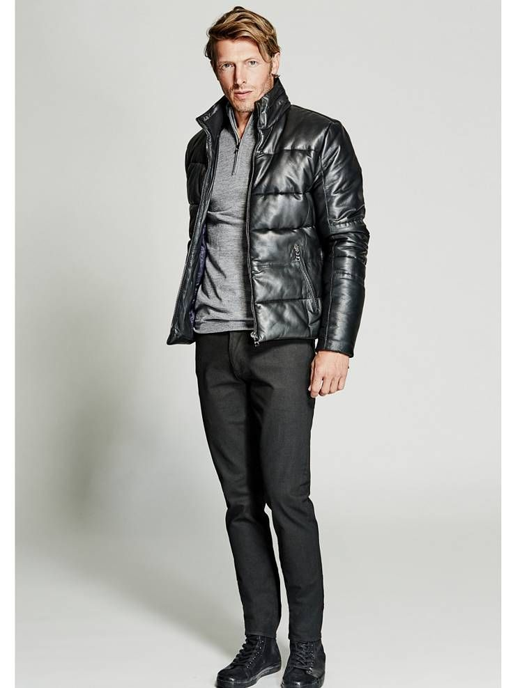 2bd8689588d Quilted Leather Jacket
