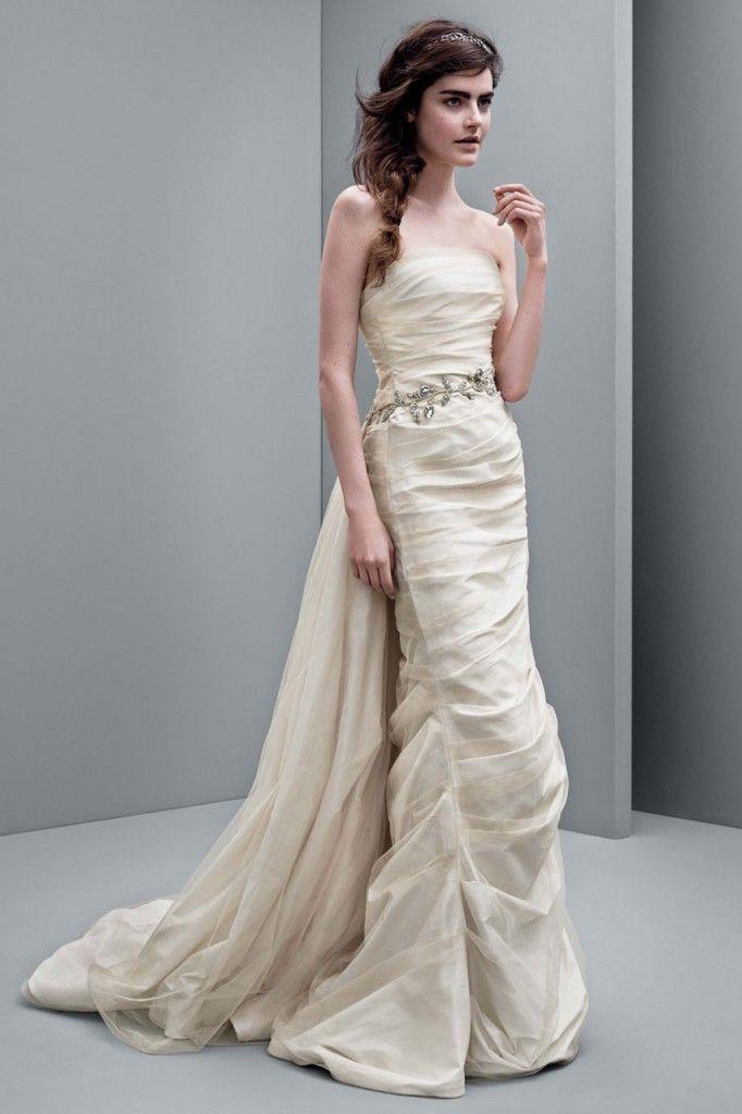 Taffeta wedding dress from Vera Wang