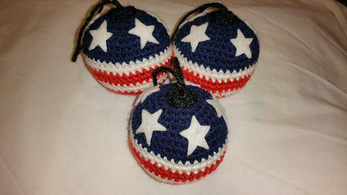 Cute American ornament pattern
