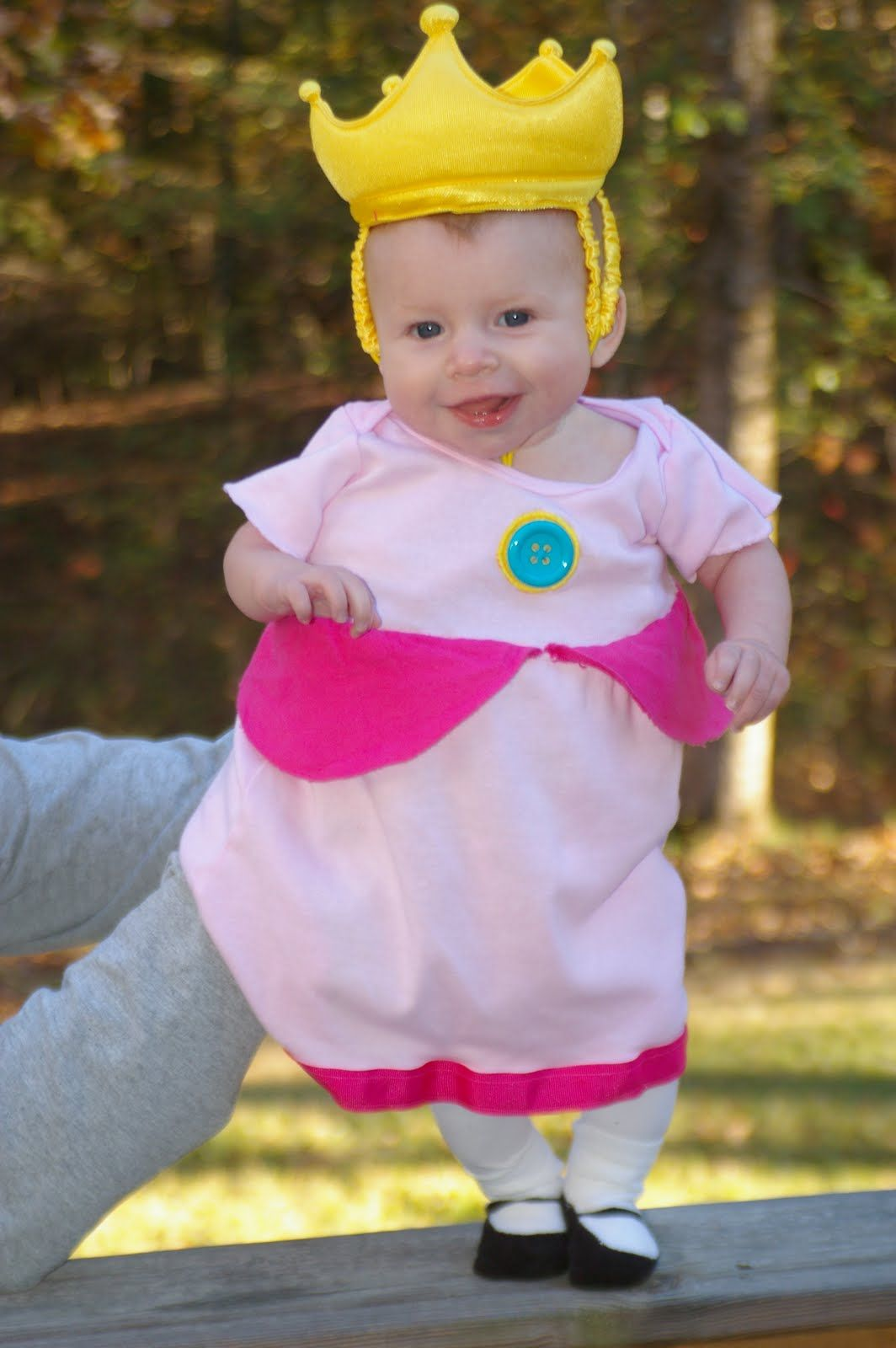 Princess Peach Costume For Infant The Ellis Mario Brothers And
