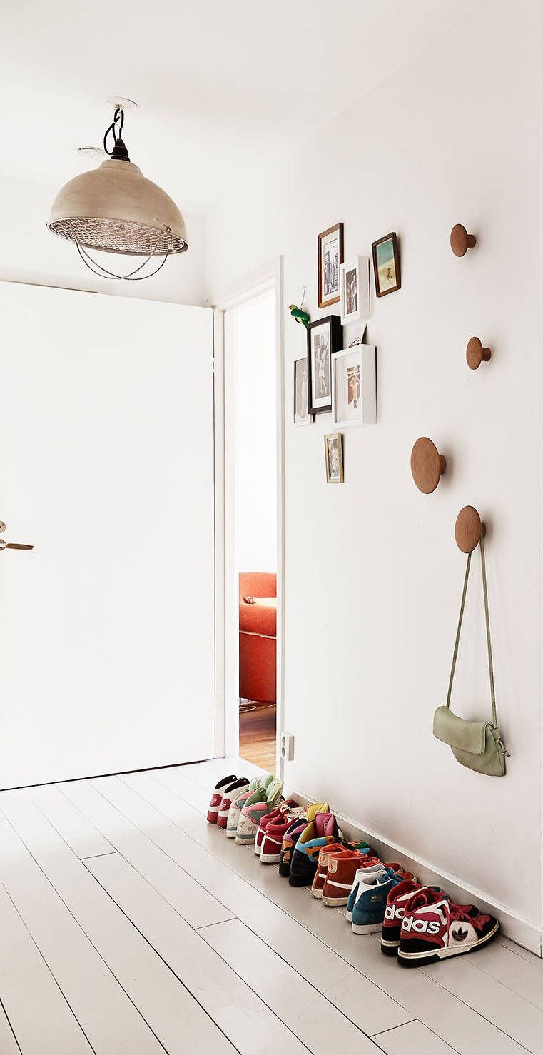 Elegant Hooks for Coats In Hallway