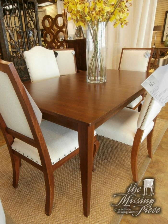 Ethan Allen Rowan Dining Table In A Walnut Finish Just Stunning