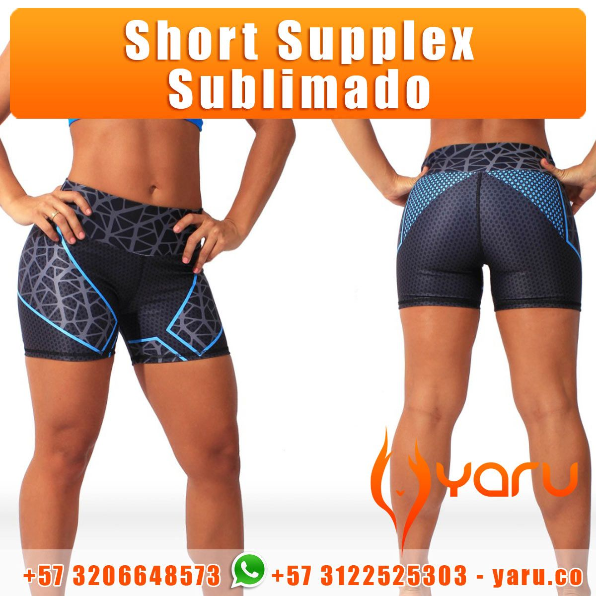 0c5e6fbe0a3f4 Short Supplex Sublimado