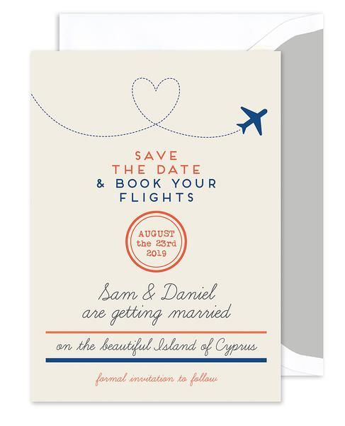Announce Your Destination Wedding In Style With This Save