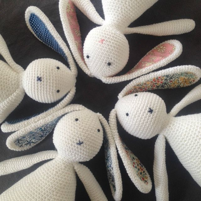 Marin le lapin *** Pattern *** - Marie Dardennes | Conejo, Animales ...