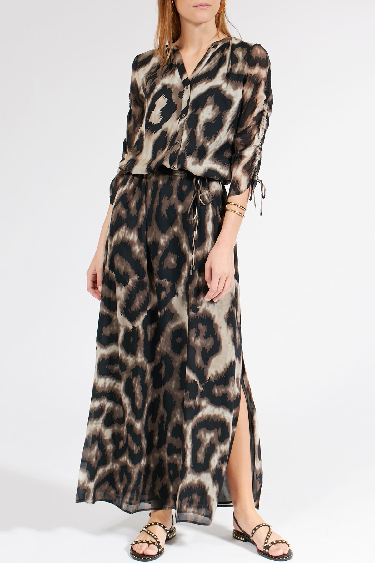 Gemustertes Maxi-Kleid Vera  Sommer kleider, Kleider