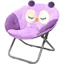 Fine American Kids Plush Animal Saucer Chair Owl In 2019 Plush Beatyapartments Chair Design Images Beatyapartmentscom