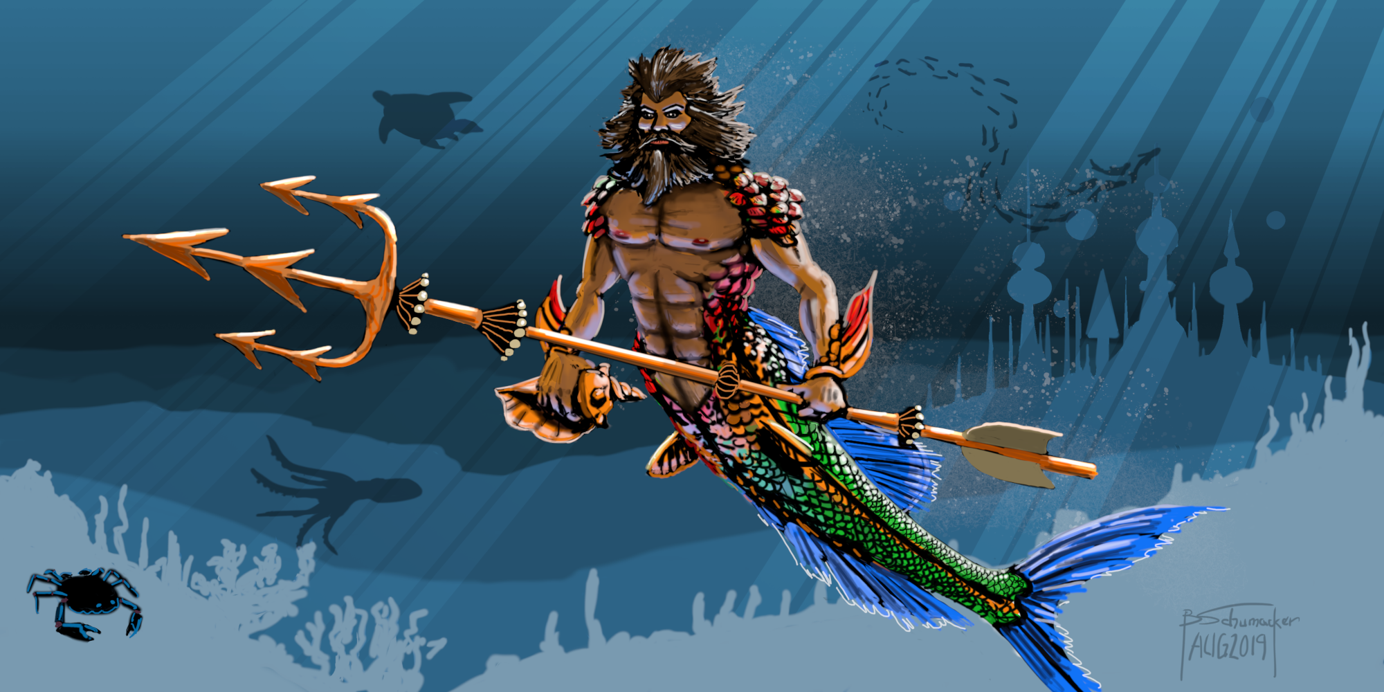 46+ Tritons spear ideas