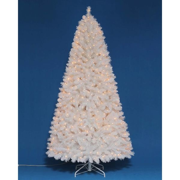 Shop Holiday Living 7 Ft Pre Lit Jeffrey Pine Full Artificial Christmas Tree At Artificial Christmas Tree White Artificial Christmas Tree Pine Christmas Tree