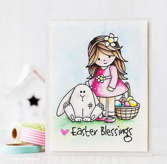 Simon Says Clear Stamps MELODY'S EASTER SSS101593 Reason To Smile zoom image