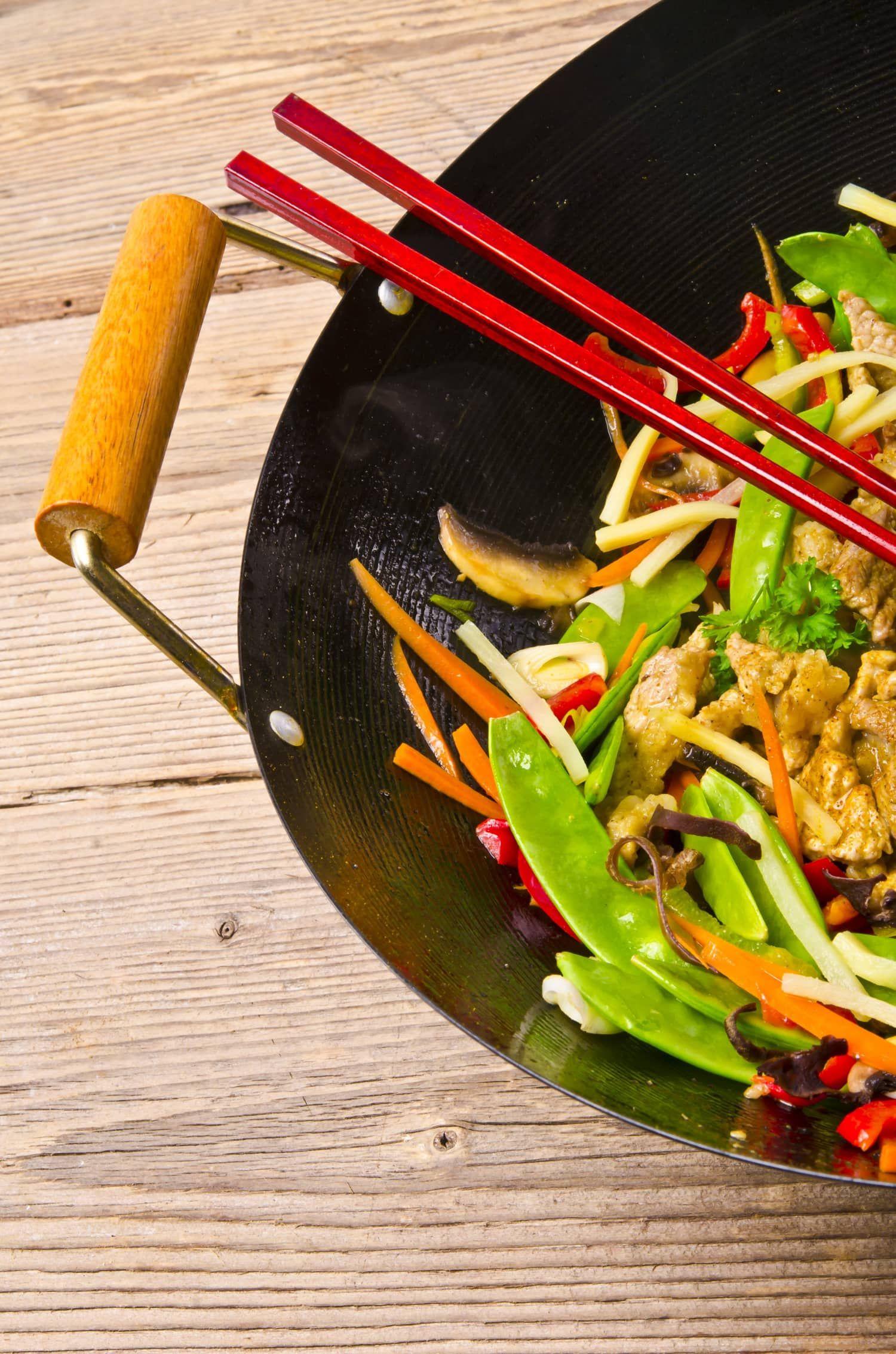 wok mat recept