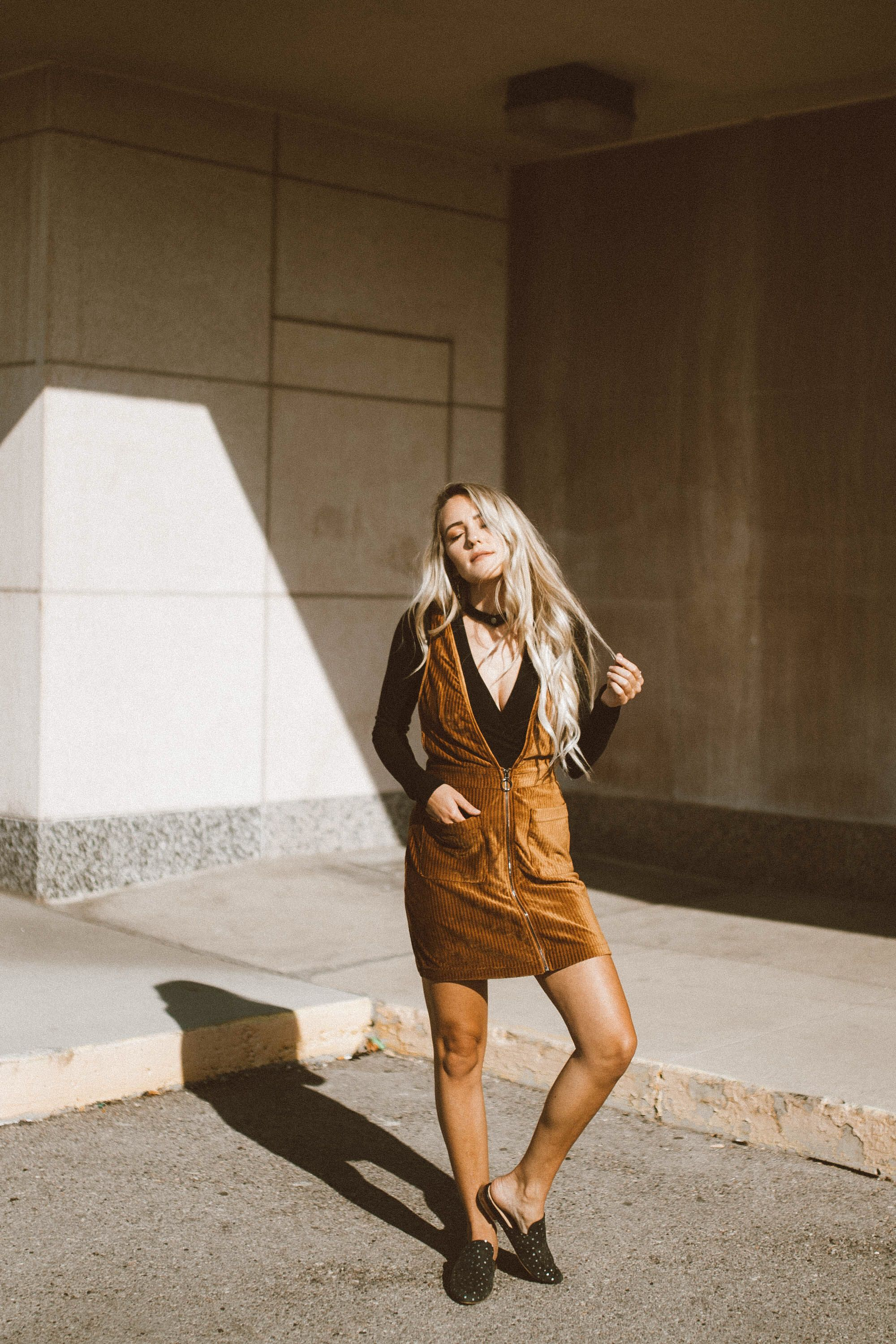 Free frenzy overall dress the foxy kind pinterest dresses