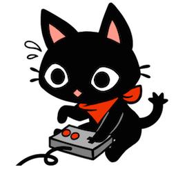 Facebook Messenger The Gamercat Sticker 3 Gamer Cat Cute Kawaii Drawings Cat Stickers