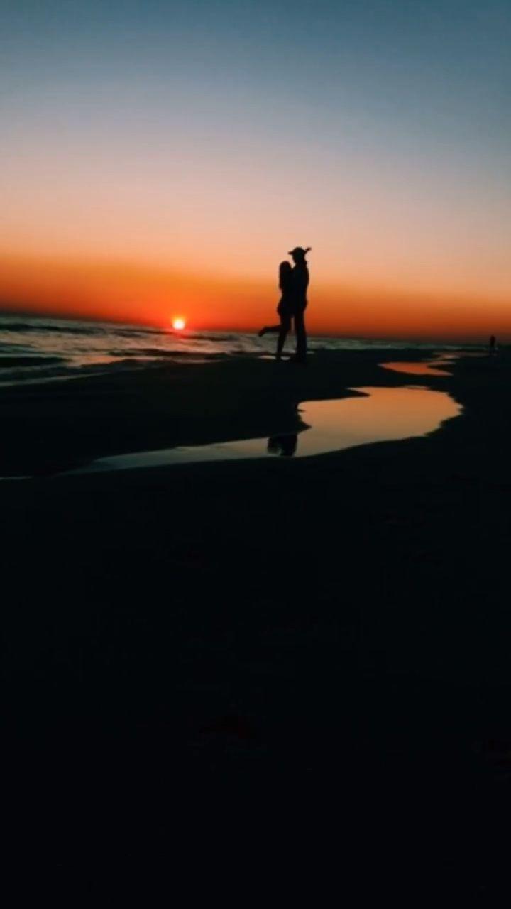 #sunset #love #beach #happy #couple #relationshipgoals #dsco