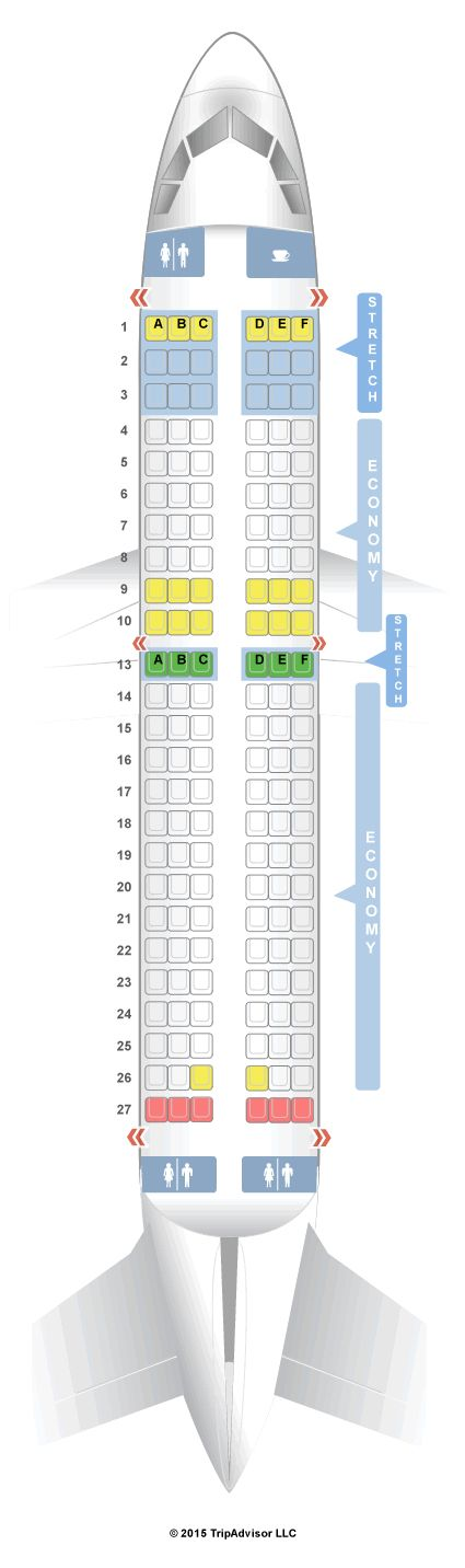 Seatguru Seat Map Frontier Airbus A319 319 V1 With Images Seatguru Frontier Map