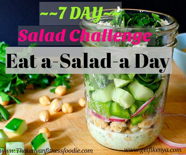 Weight Loss 7 Day Salad Challenge