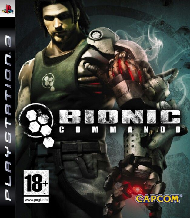 Bionic Commando - PS3 | Games I Own | Xbox 360 games, Sony