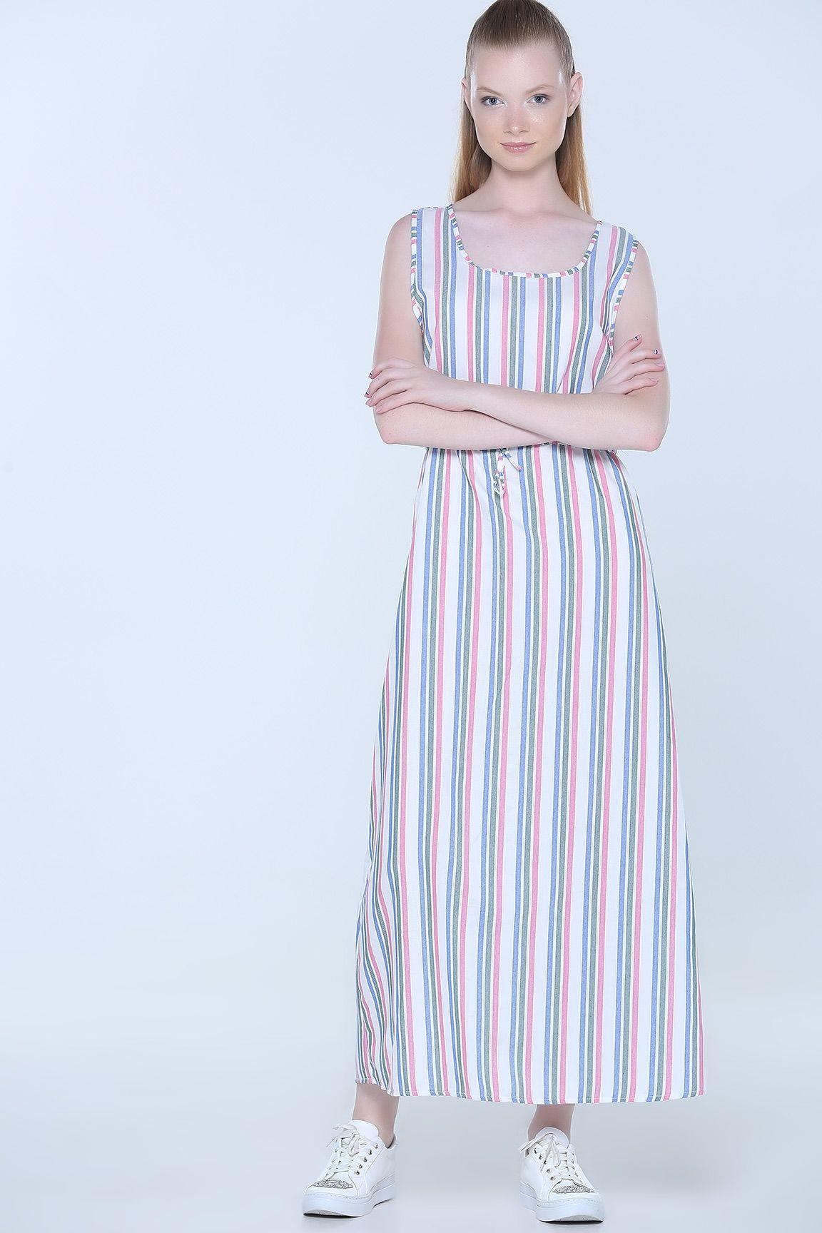 Haki Cizgili Elbise Elbise Cizgili Elbise Elbise Modelleri