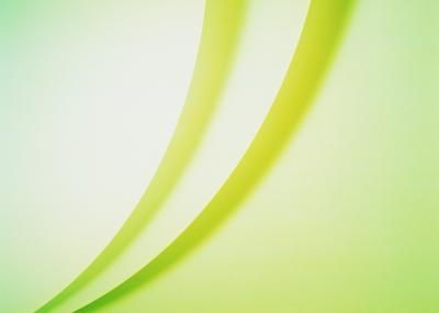 Pastel Green Curving Lines Background Wallpaper