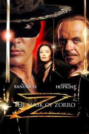 Rediscovered my love for Antonio Banderas this weekend while watching both Zorro movies. I can't believe I'd forgotten how great they were! <3