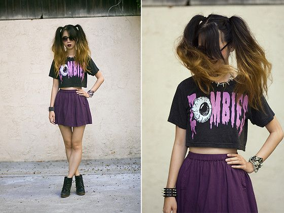 Living Dead Girl (by Cindy Chi) http://lookbook.nu/look/4081588-Living-Dead-Girl