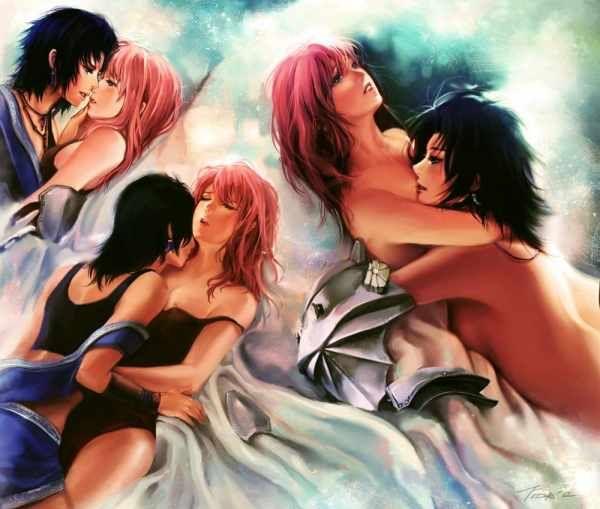 girls Final lesbian fantasy