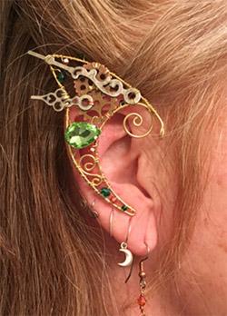 Wire Elf Ears Cute Earrings Elf Ears Ear