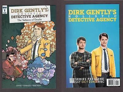 Dirk Gently Salmon of Doubt (2016) #1 IDW Comics Holistic Detective Doug Adams