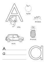 pin von sharona waldschmidt auf german mit bildern   kindergarten buchstaben, buchstaben