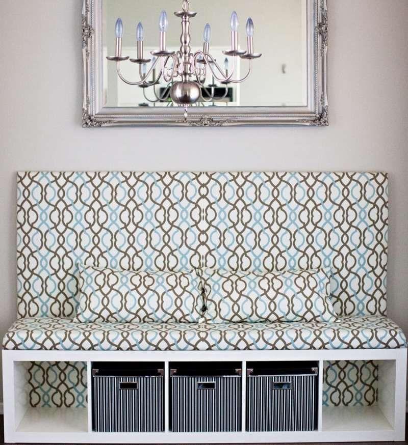 sitzbank aus sitzkissen und ikea regalen selber bauen werkstatt einrichtung m bel und ikea. Black Bedroom Furniture Sets. Home Design Ideas