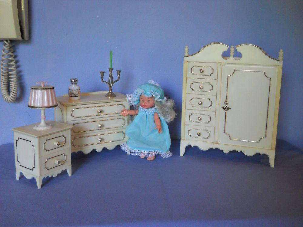 Dettagli su lotto mobili galletti serie principessa per for Mobili anni 60
