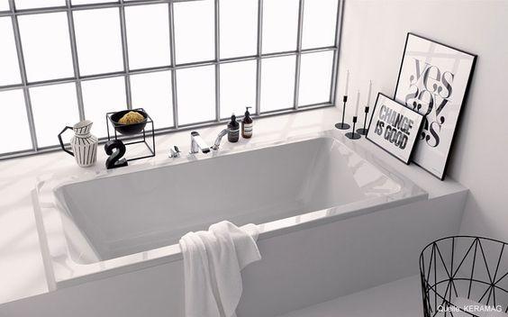 Wir haben zwei Bäder im Haus Ein Familienbad im OG mit Badewanne - badezimmer badewanne dusche