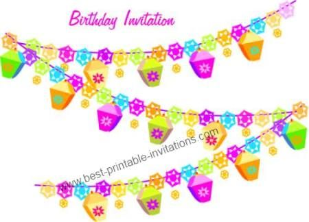 Birthday Party Invitation Templates Printable Free I found these - free birthday invite template