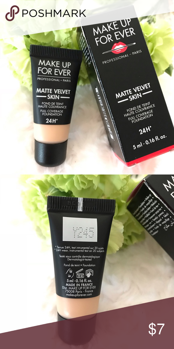 Make Up For Ever Matte Velvet Foundation Y245 5ml Make Up