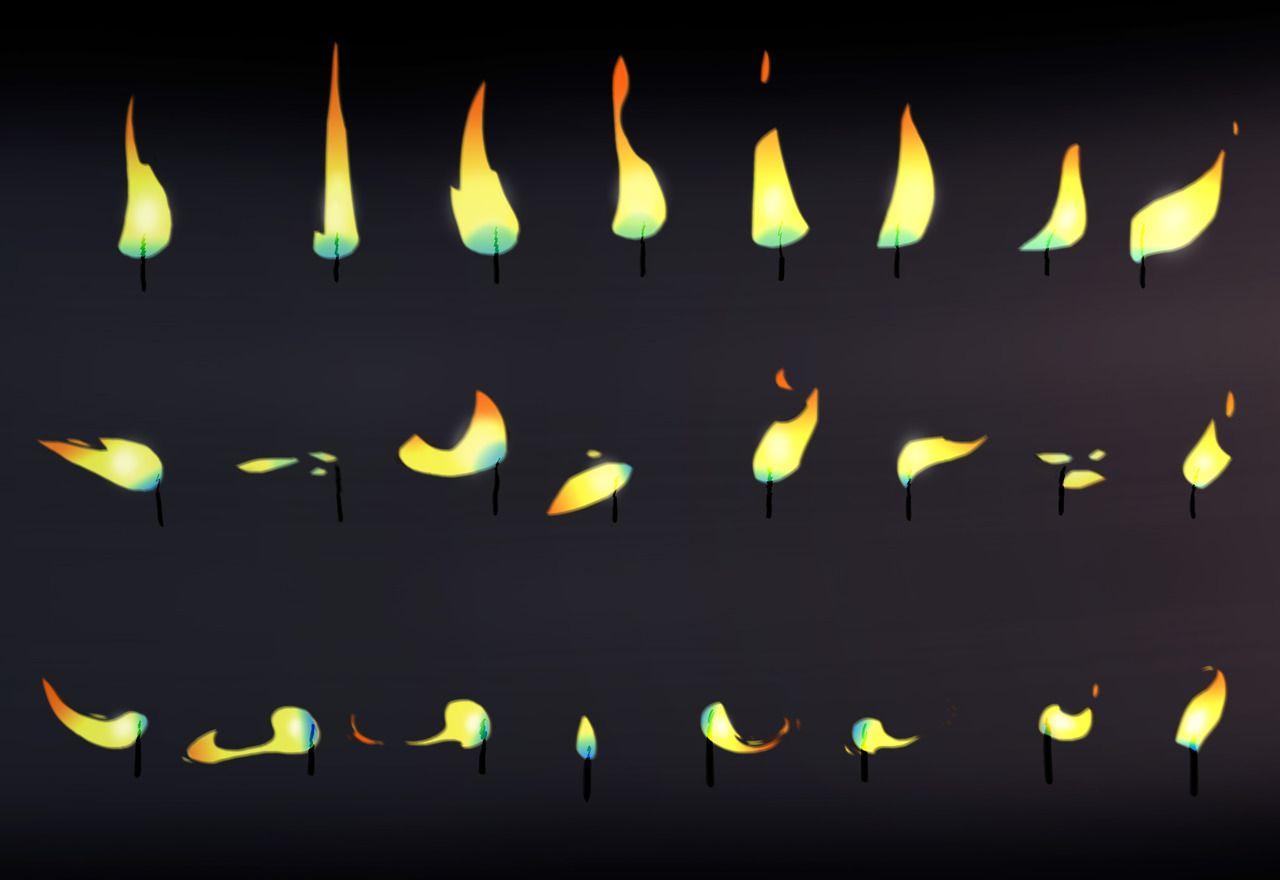 Source: quentincordonnier | Animation_Effect | 애니메이션, 특수효과, 양초