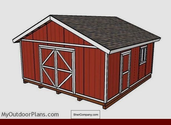 16x20 Wood Shed Plans Free And Pics Of Simple Shed Roof House Plans