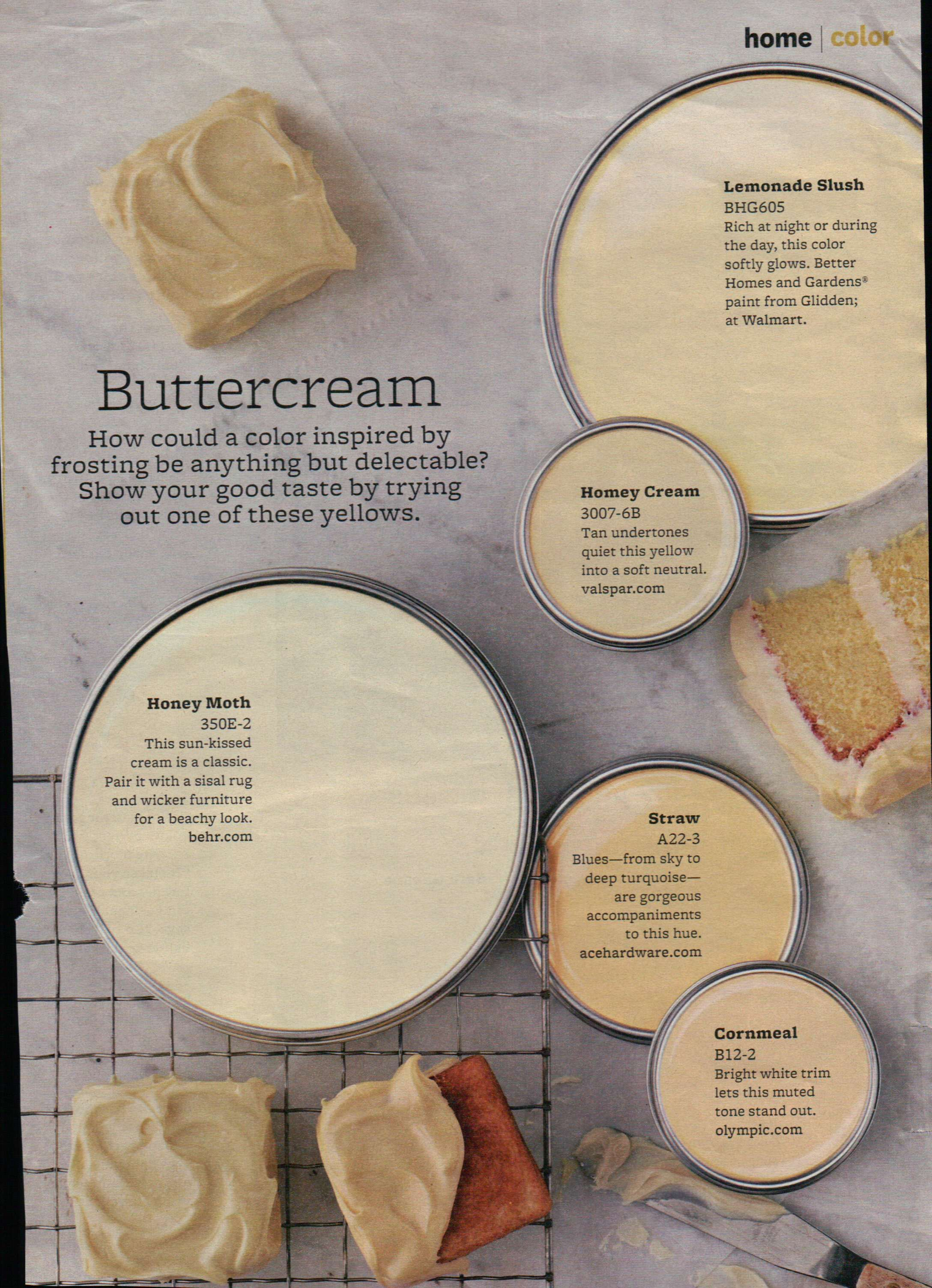 Butter Cream Hues Paint Painting Tips Amp Color Ideas In