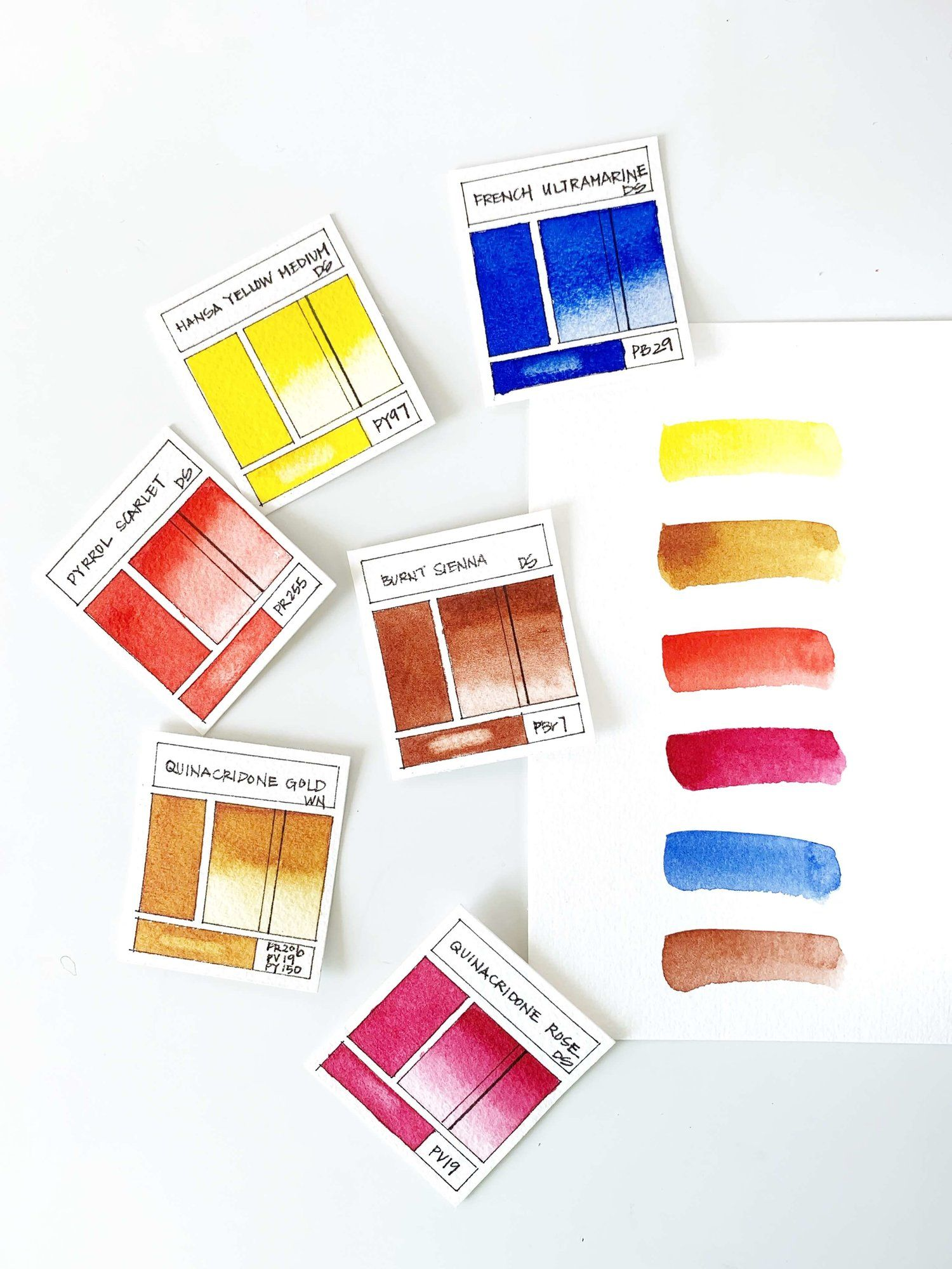My Top 6 Essential Colors For Every Watercolor Palette Palette