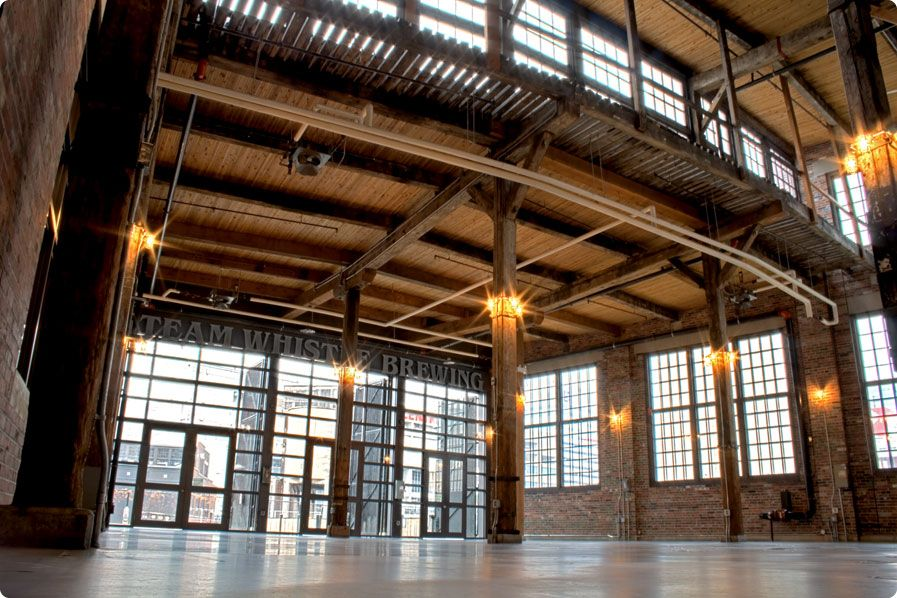 Steam Whistle Brewing Event Space The Hall Wedding